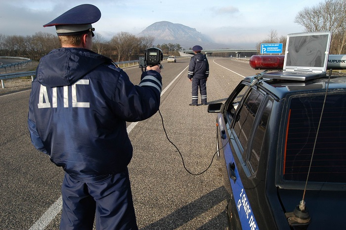 Штрафы, предусмотренные за превышение скорости в 2017 году