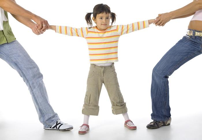 С кем останется ребёнок после развода?