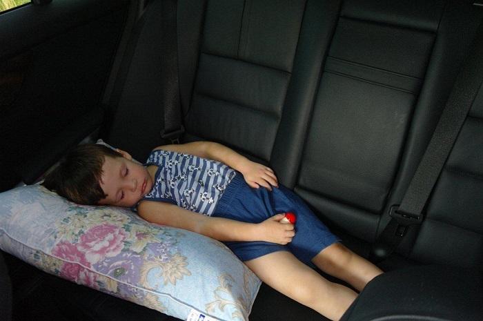 Какие штрафы предусмотрены за отсутствие детского кресла?