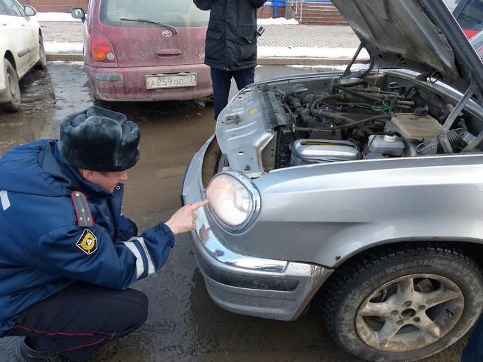 Наказание, предусмотренное за тонирование осветительных приборов автомобиля