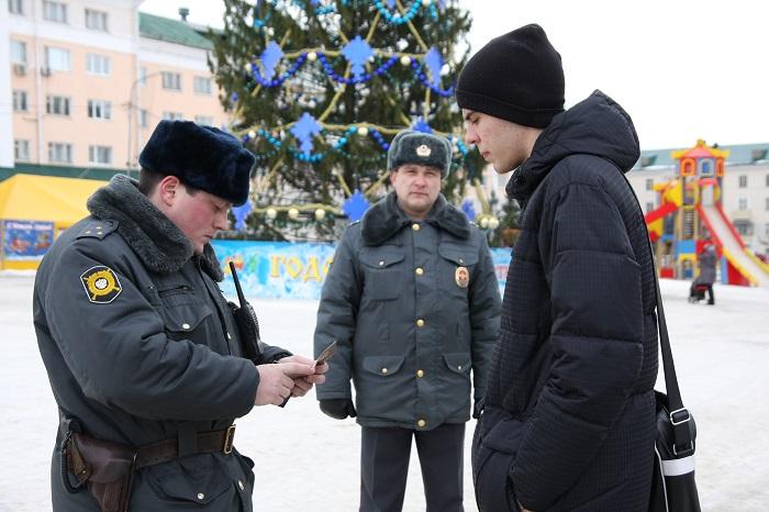 Обязанности полицейских при проведении задержания