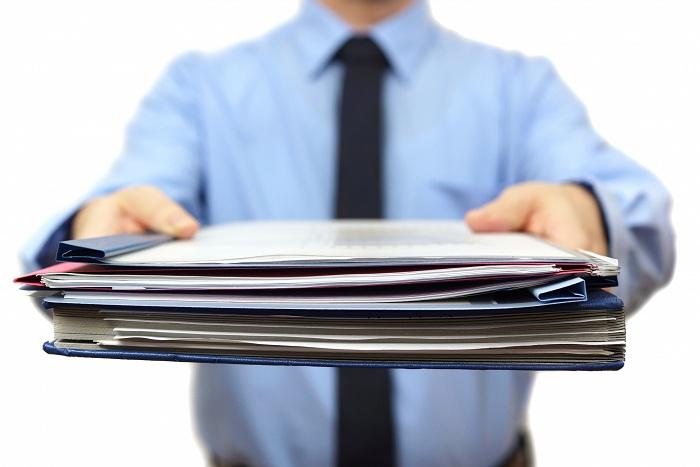 Сбор и подготовка пакета бумаг