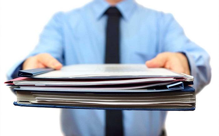 Сбор и подача бумаг
