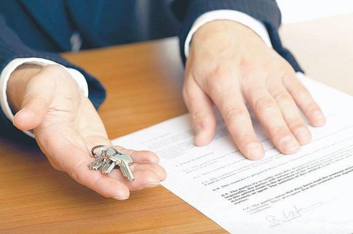 Основные этапы процесса продажи квартиры (доли)