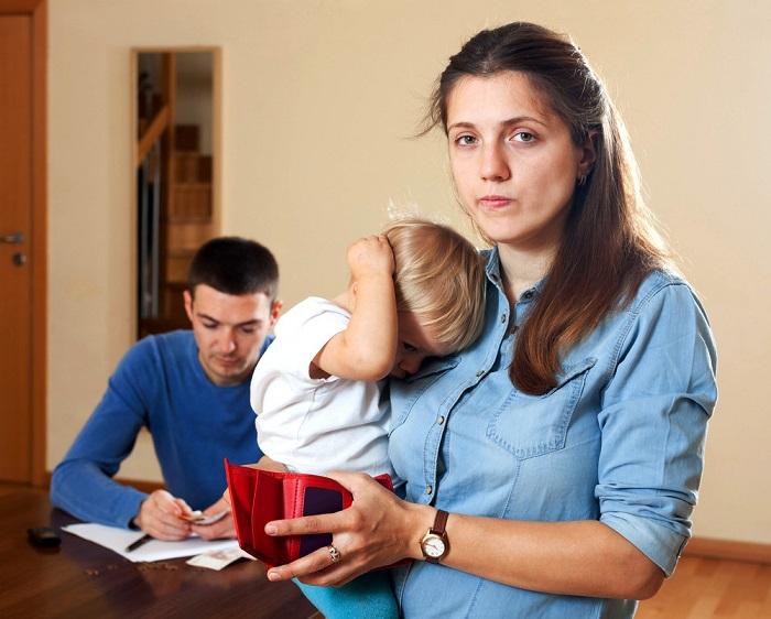 Как доказать, что муж не содержит детей