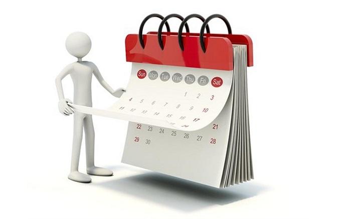Разновидности сроков подачи обращений