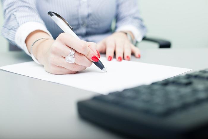 Порядок написания заявления