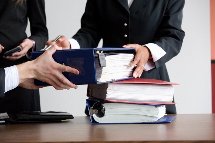 Процесс восстановления документов
