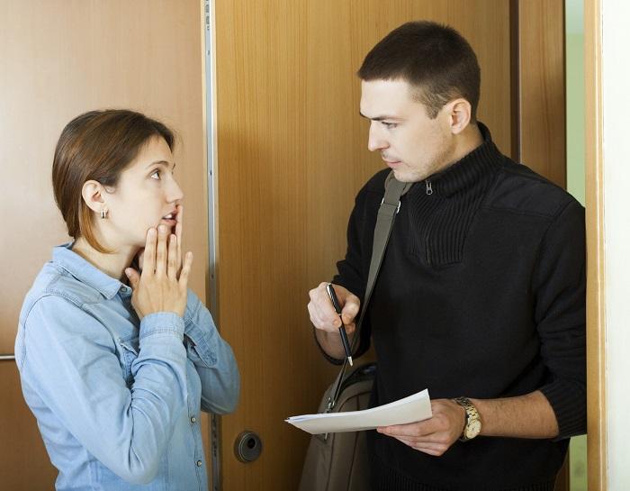 Общение коллектора с должником