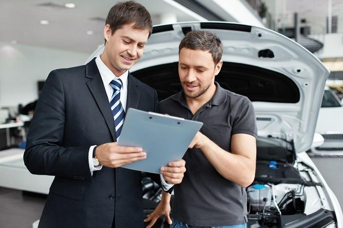 Услуга обмена автомобиля на новый в автосалоне