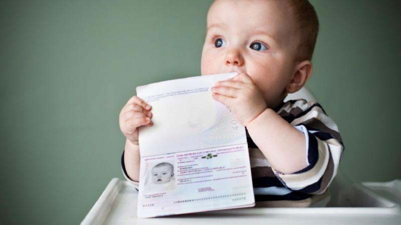 Наложение штрафа за отсутствие прописки у новорождённого