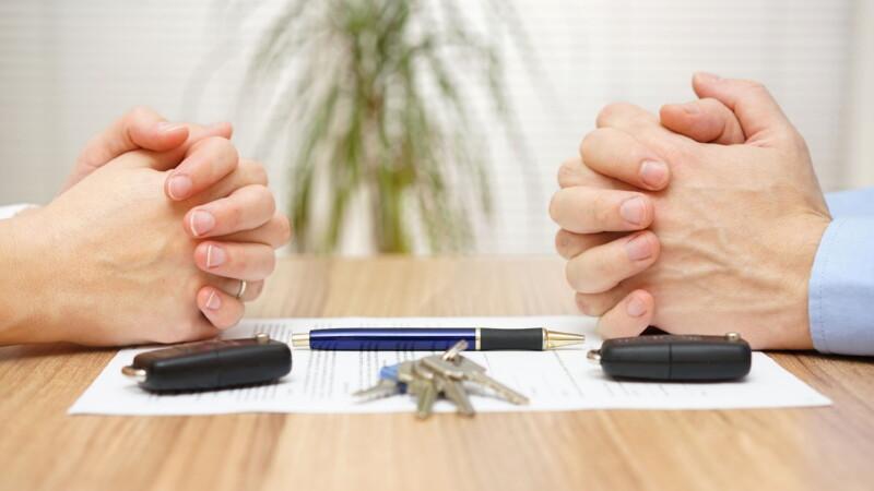 Изменение долей при разделе имущества
