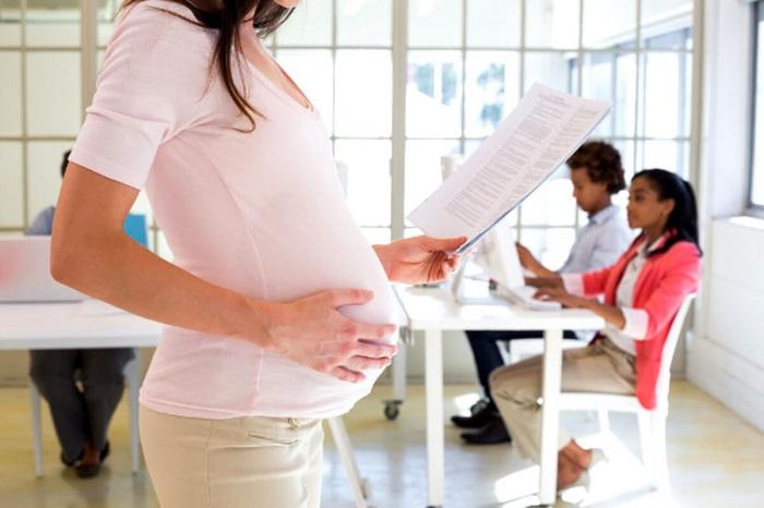 Беременность в декрет